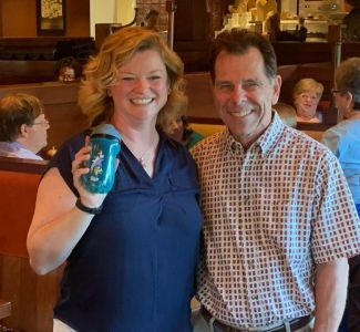 New Sippy Cup member Jennifer Ray presented by Tom Rohr